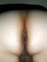 Ass, Curvy, Hairy ass, Big hairy, Curvy ass, Hairy wife
