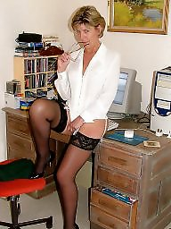 Mature uk, Mature stockings, Uk mature