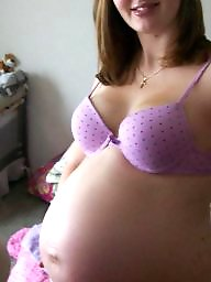 Pregnant, Underwear, Stockings
