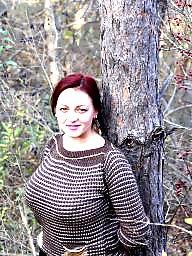 Russian, Busty, Woman, Russian busty, Russian big boobs, Busty russian