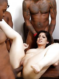 Interracial, Gangbang, Bbc, Sex, Interracial gangbang, Asian interracial