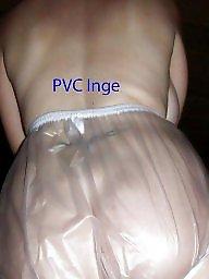 Pvc, Panties, Plastic, White panties, Amateur panties