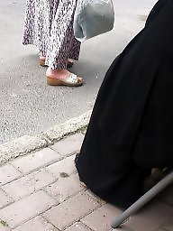 Foot, Turban, Feet, Turkish, Candid, Hijab feet