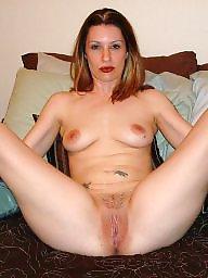 Blonde milf, Posing