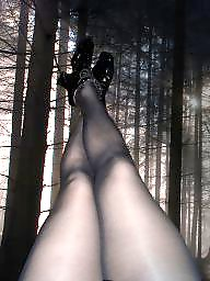 Stocking, Forest, Nylons