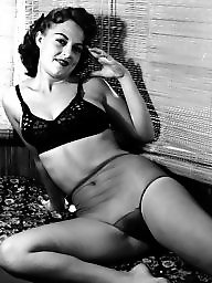 Lingerie, Vintage lingerie, Lady, Amateur stocking, Amateur lingerie