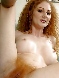 Hairy redheads, Hairy redhead, Red