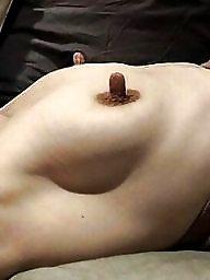 Long nipples, Hard nipples, Big nipples