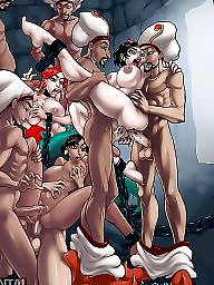 Cartoon, Toons, Group cartoon, Cartoon sex, Sex cartoon, Group sex