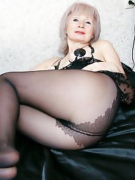 Mature pantyhose, Blonde mature, Mature blonde