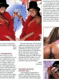 Vintage, Magazine, Big black ass, Big black, Vintage ebony, Vintage boobs