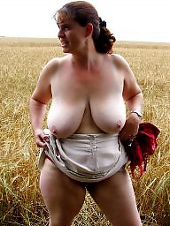 Mature big tits, Nature, Big tits mature, Natural mature, Natural, Naturism
