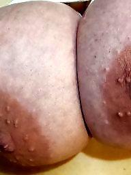 Tied, Bbw wife, Hand, Bbw big tits, Tied tits, Wife tits
