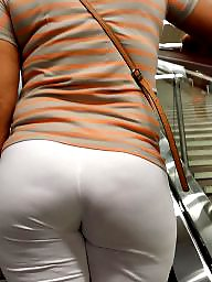 Tights, Candid, Tight ass, Candid ass, Candids, White ass