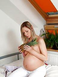 Pregnant, Sexy, Pregnant blonde