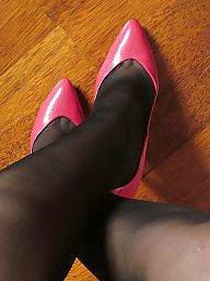 Heels, Tights, Tight, Stockings heels