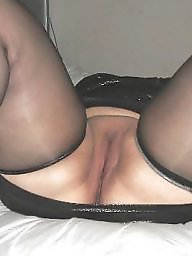 Spreading, Spread, Bbw stockings, Bbw spread, Bbw spreading, Bbw stocking