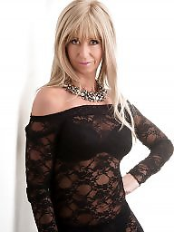 Mature stockings, British, Milf stockings, British mature, British milf, Stockings milf