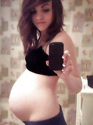 Pregnant, Empty, Balls, Pregnant babe