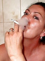 Smoking, Mature smoking, Bitch, Smoking mature, Smoke, Teen mature
