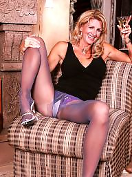 Pantyhose, Mature pantyhose, Blonde mature, Pantyhose mature, Mature blondes
