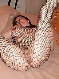 Fishnet, Milf stockings, Stocking milf