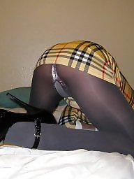 Pantyhose, Dress, Stockings, Grey, Pantyhose upskirt, Upskirt stockings