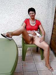 Mature faces, Face, Faces, Mature face, Hairy stockings, Chair