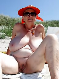 Mature beach, Beach mature, Showing tits