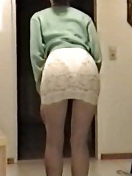 Skirt, Lace, Babes, Tight, White ass, Tight skirt