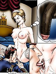 Cartoon, Creampie, Cartoons, Bbc, Interracial cartoon, Interracial creampie