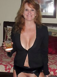 Mature redhead, Redhead mature, Redhead milf, Stockings mature, Stocking milf, Sexy stockings