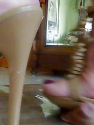 Heels, Model, Trampling