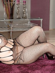 Fishnet, Black mature, Mature black, Big black, Mature boobs, Black milf