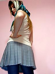 Turban, Upskirt, Stockings, Stocking, Upskirts, Turbans