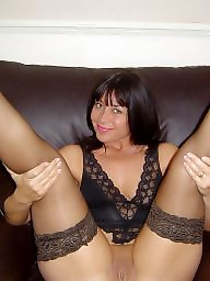 Heels, Flashing, Flashing stockings
