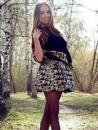 Russian, Nylons, Amateur nylon, Teen stockings, Girl
