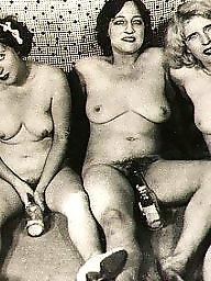 Vintage, Group, Women, Naked, Vintage amateur, Groups