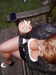 Upskirt, Park, Flash, Funny, Upskirt flashing