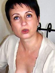 Brunette, Mature brunette