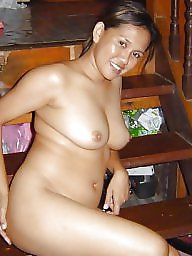 Malay, Home, Busty, Big, Nudes, Asian home