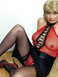 Leather, Upskirt, Sexy milf, Milf upskirt, Milf upskirts, Upskirt milf