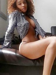 Ebony ass, Work, Ebony tits, Blacked