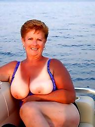Natural, Granny boobs, Nature, Big granny, Granny big boobs, Mature blond