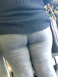 Bbw ass, Candid