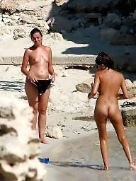 Beach, Naked, Public beach