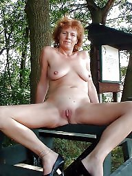 Granny, Mature, Grannies, Hard