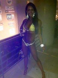Bikini, Old, Public flash
