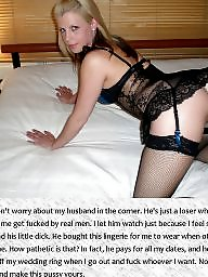 Cuckold, Cheating, Humiliation, Mature femdom, Bitch, Wives