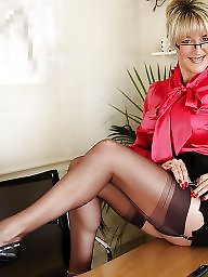 Mature mix, Stocking milf